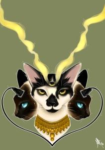 fanart du livre de Bernard Werber Demain les chats