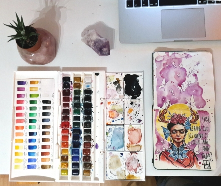watercolor-sketchbook-portraits-frida-ashcoloured